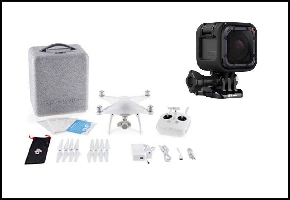 Our New GoPro, Drone and a Couple Wins