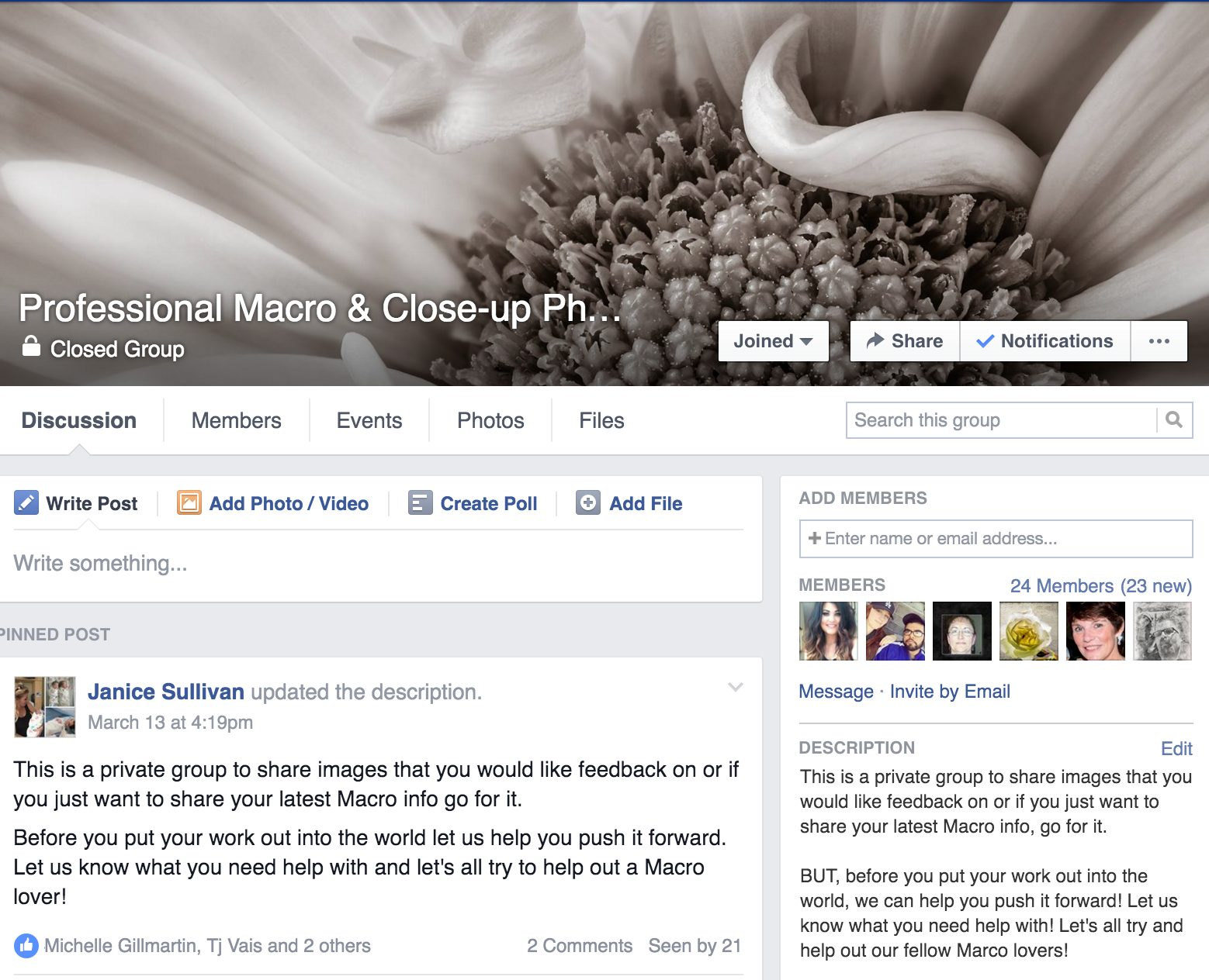 Professional Macro & Close-up Photography Group