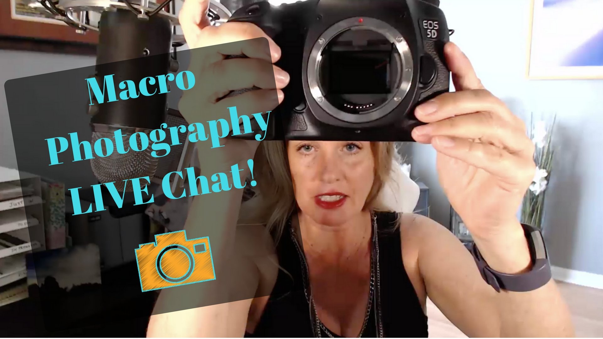Macro Live Chat Show 11 – Micro Photography – Reverse Lens Adapter