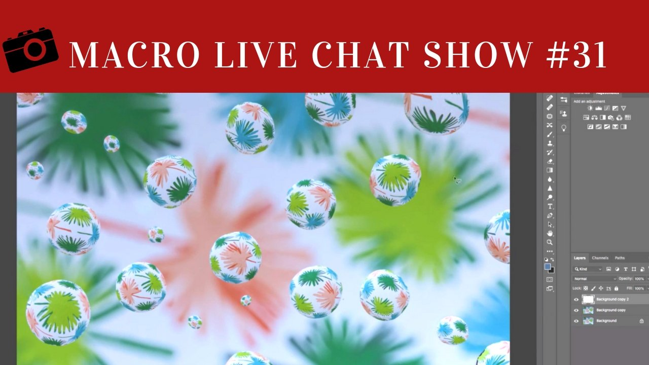 Macro Live Chat Show – 31 Cropping