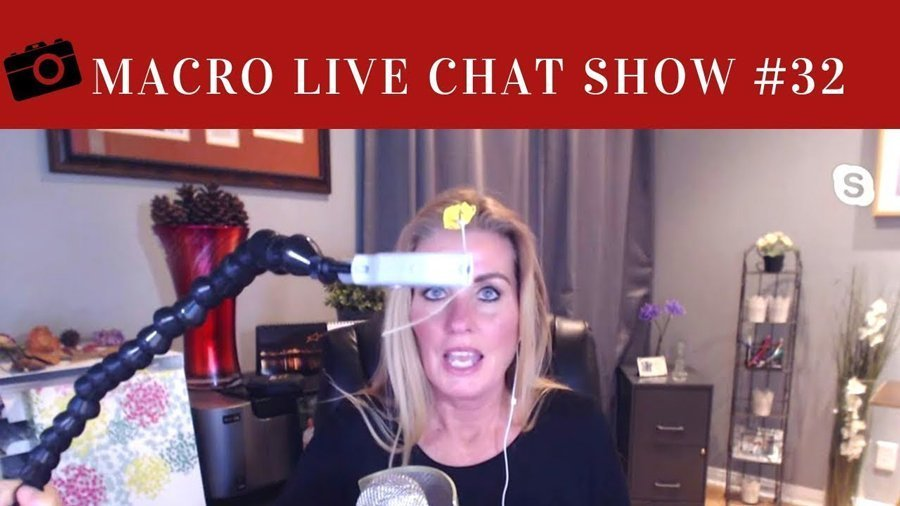 Macro Live Chat Show #32 – Creative Shooting and Tools
