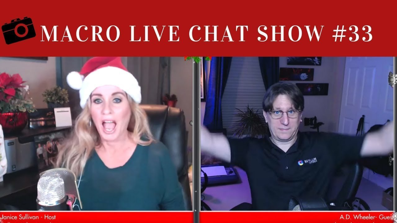 Macro Live Chat Show #33 – Holiday Special
