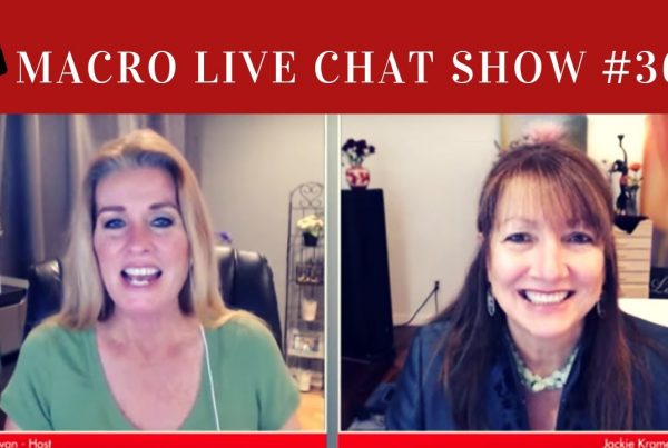 jackie kramer, macro photography live chat show