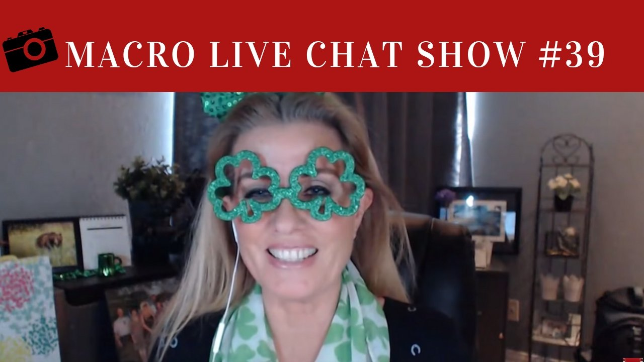Macro Live Chat Show #39 – Expressing Yourself