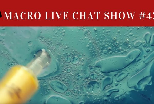 macro chat show, water and oil
