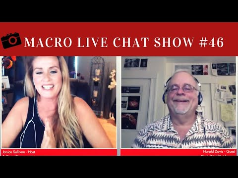 harold davis on the macro photography live chat show