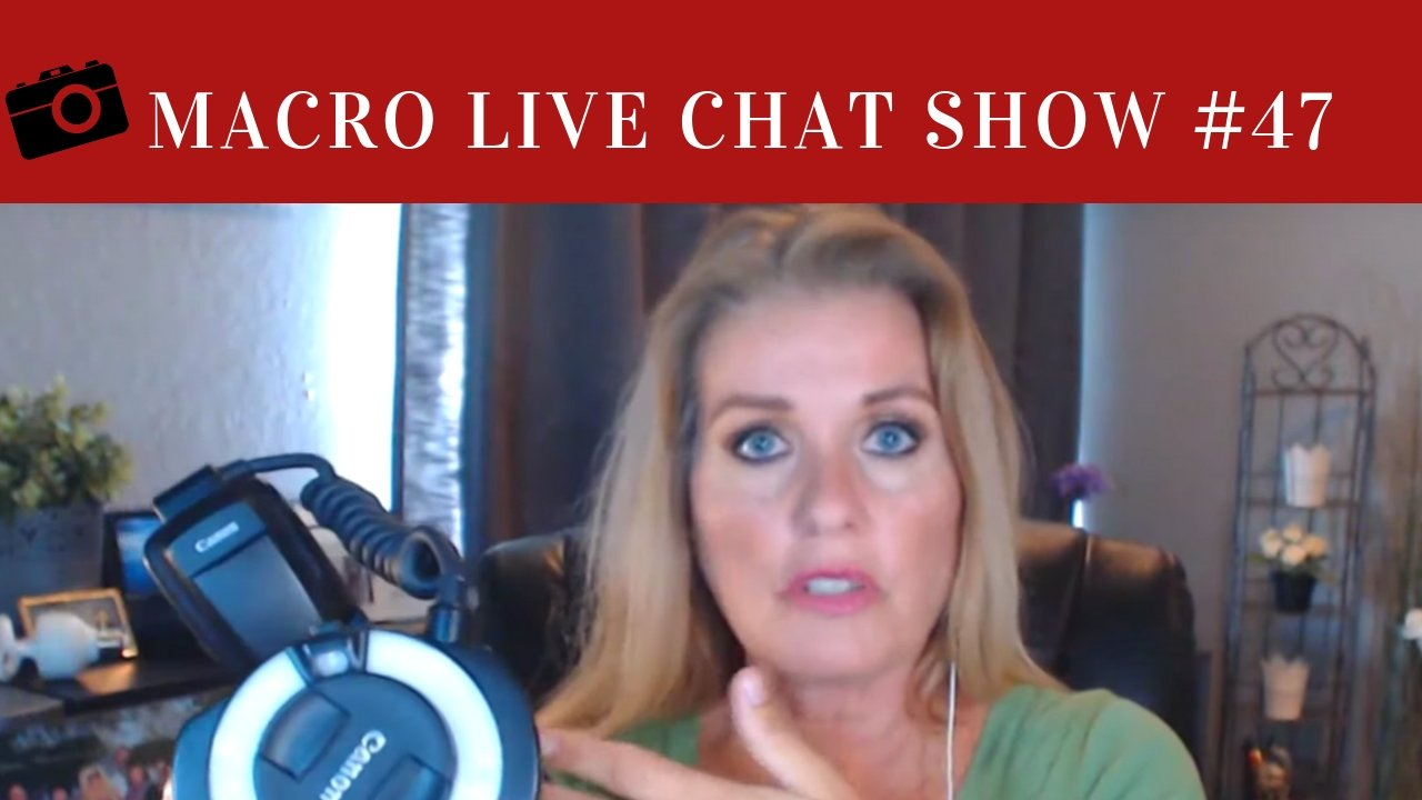 Macro Photography Live Chat #47 – Let's Talk About Light