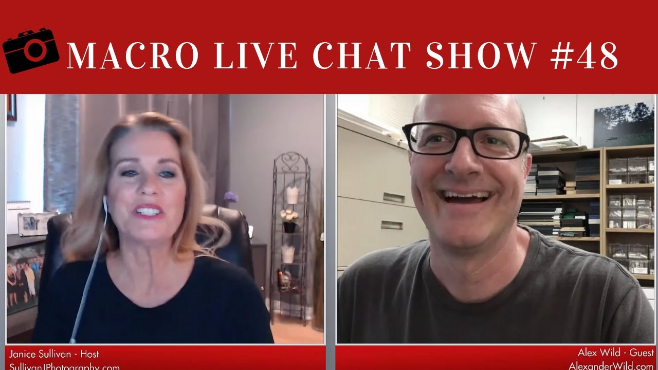 Macro Photography Live Chat #48 – Alex Wild