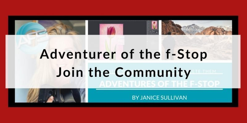 join afs community to be accountable for your photography