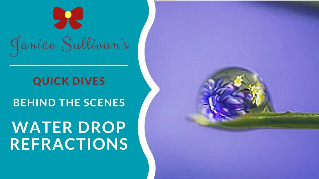 waterdrop refraction