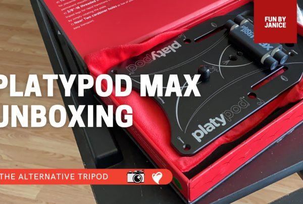 platypod max unboxing