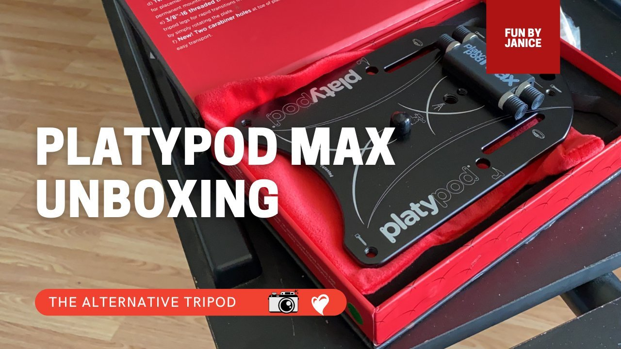 Unboxing a Platypod with Janice Sullivan