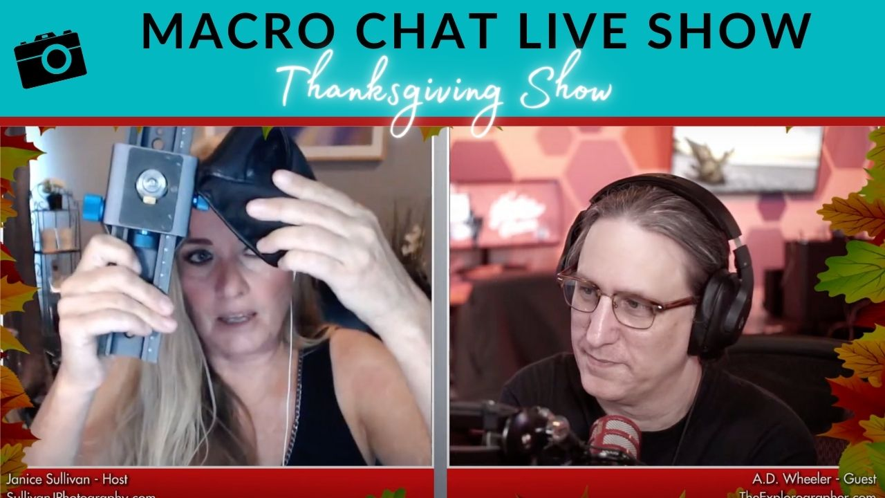 macro chat live show thanksgiving