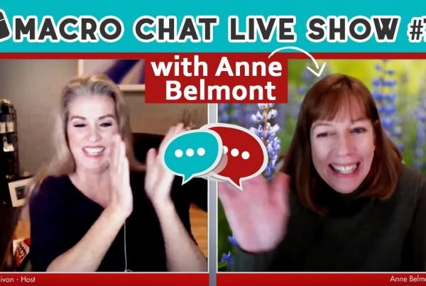 macro chat show with anne belmont