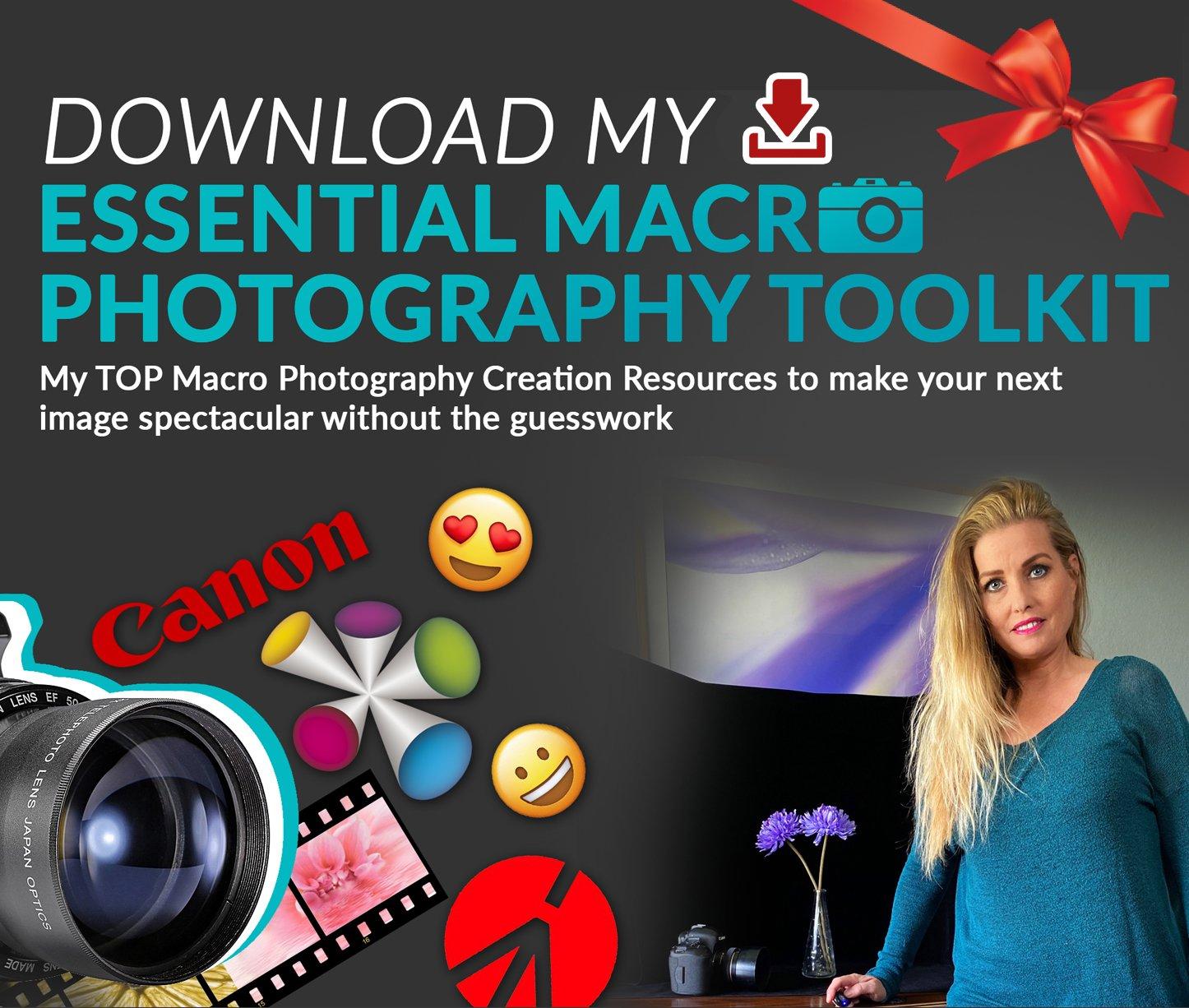 dowload macro photography toolkit here