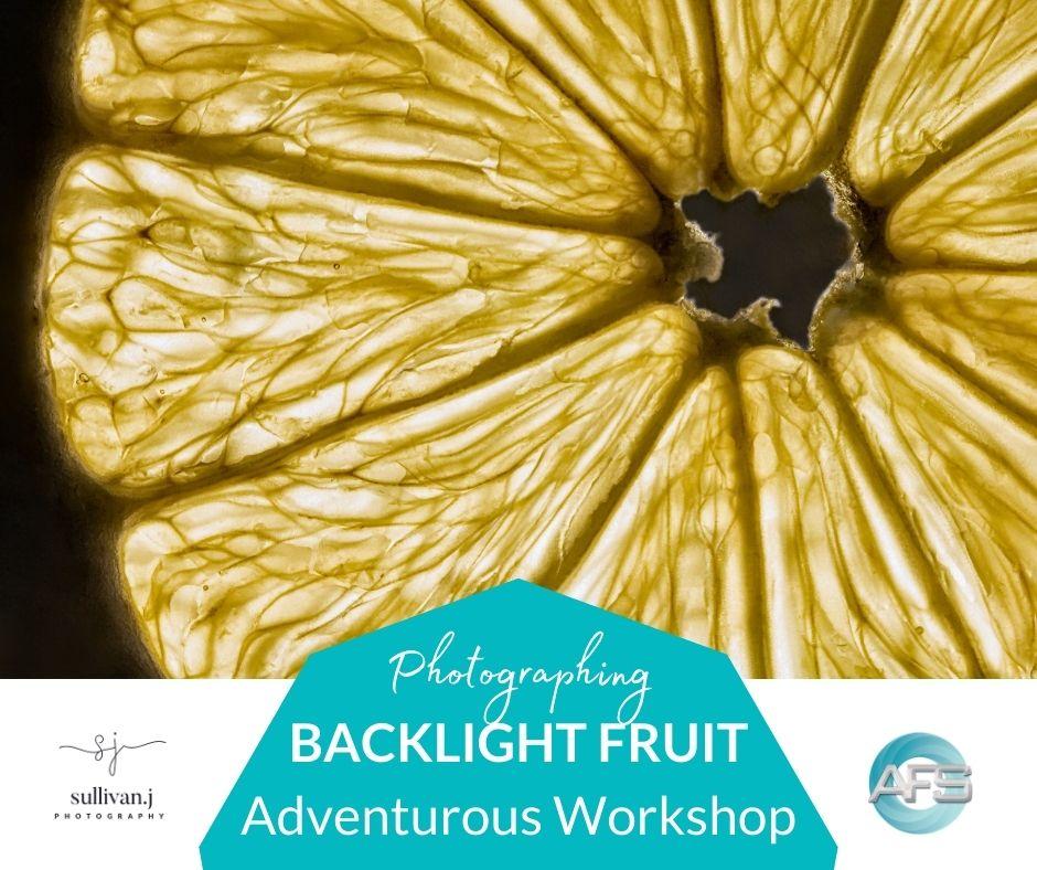 backlighting fruit