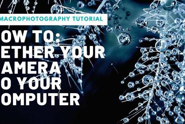 how to teather your camera to your computer